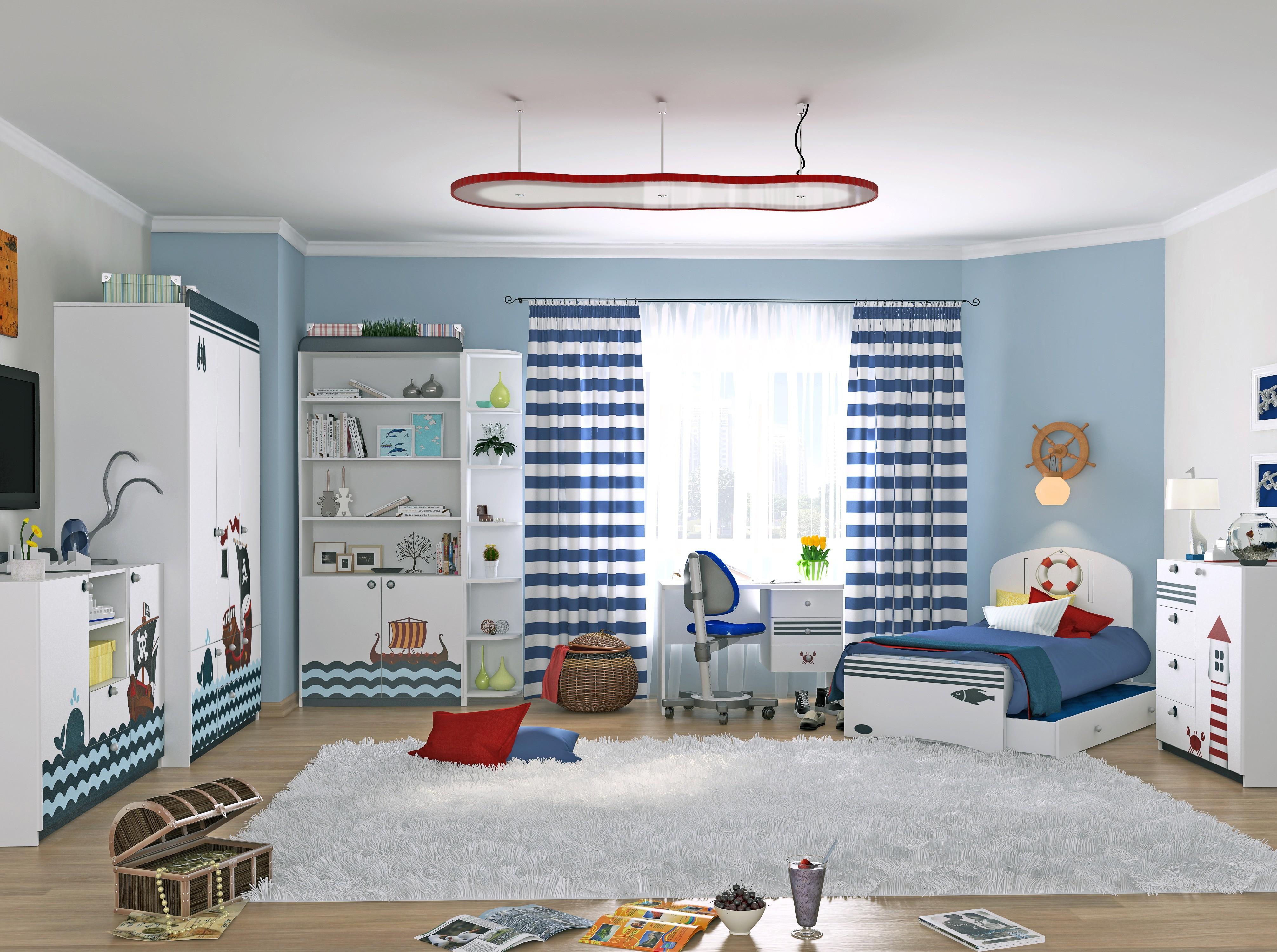 Комната мальчика Морская